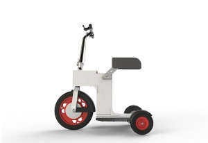 Ugly scooter, side view