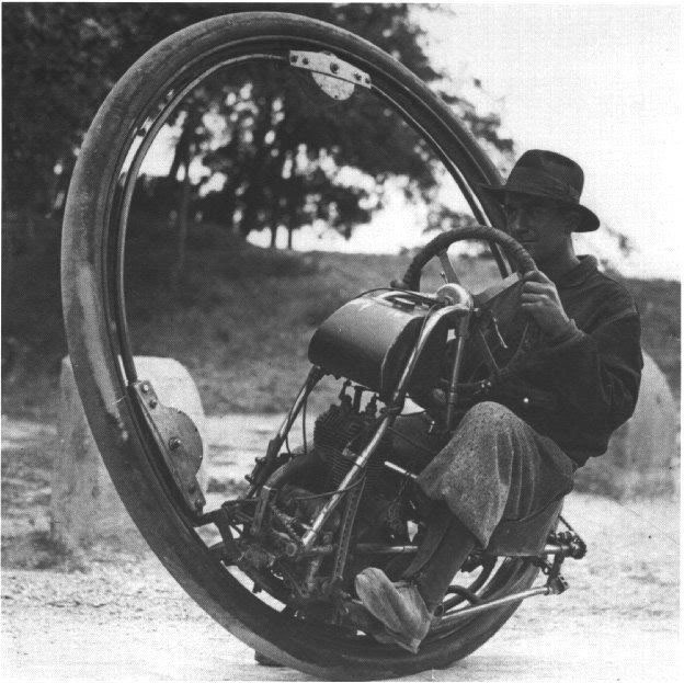 A 1931 Monocycle