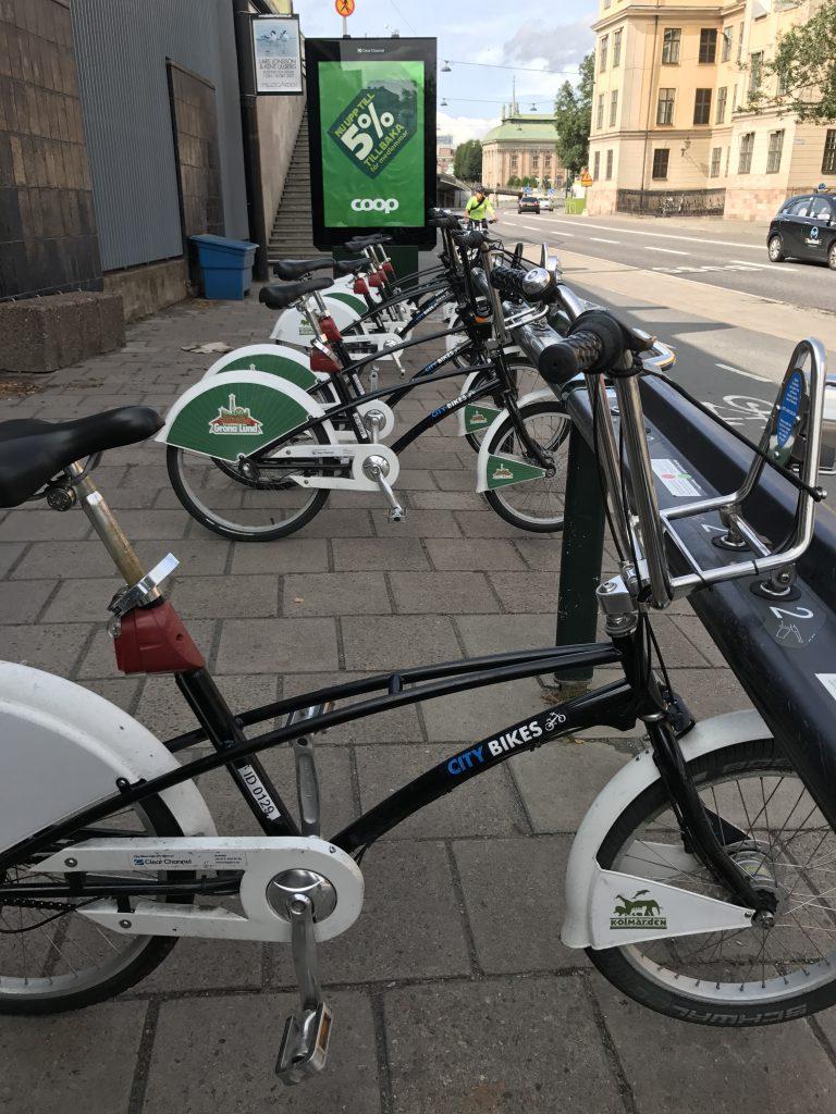 Stockholm Bike Share Dock